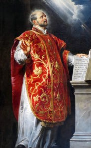 St. Ignatius of Loyola Portrait by Peter Paul Rubens