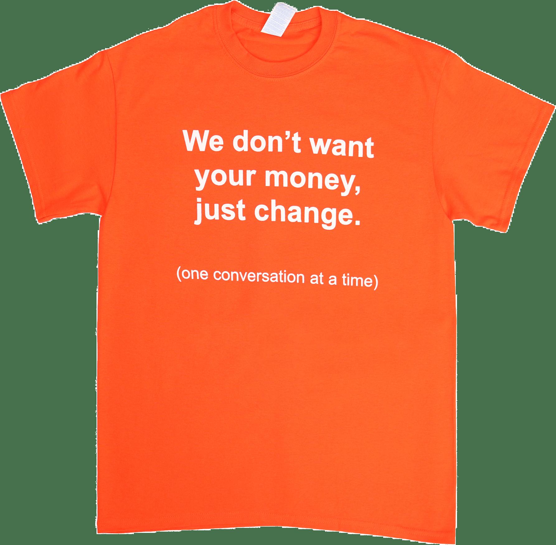 a29736325a3 Orange – Awareness T-Shirt