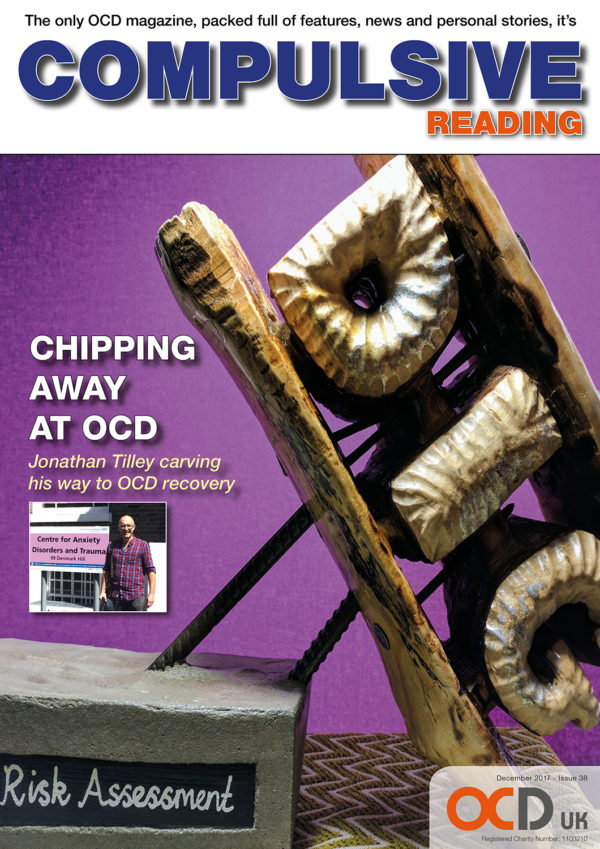 The front cover of the The latest Compulsive Reading magazine