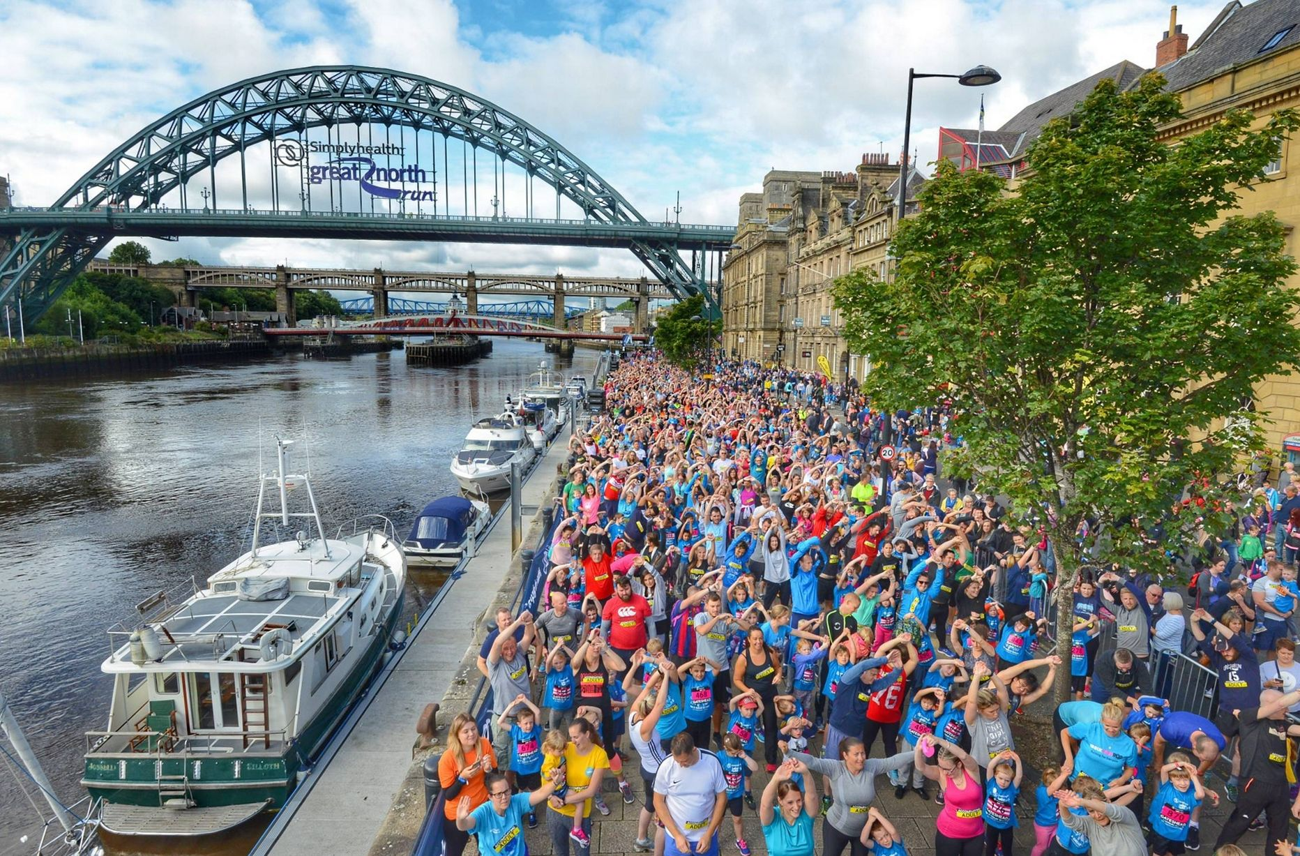 """Featured image for """"Join Team OCD-UK for the Great North Run"""""""