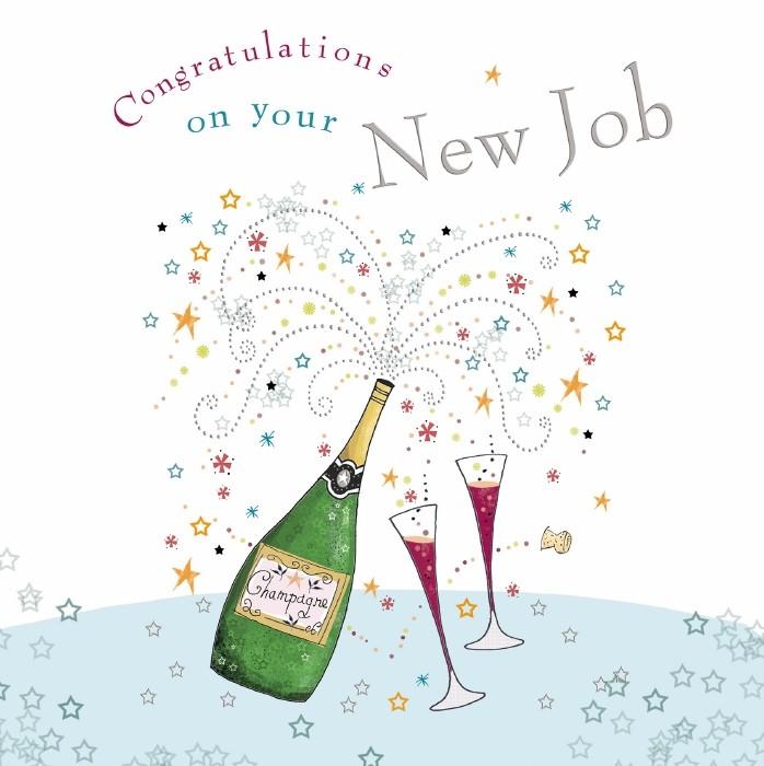 congratulations on your new job  u2013 ocd
