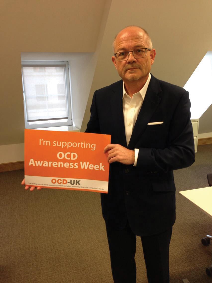 Steve Sharpe, Honorary President of OCD-UK