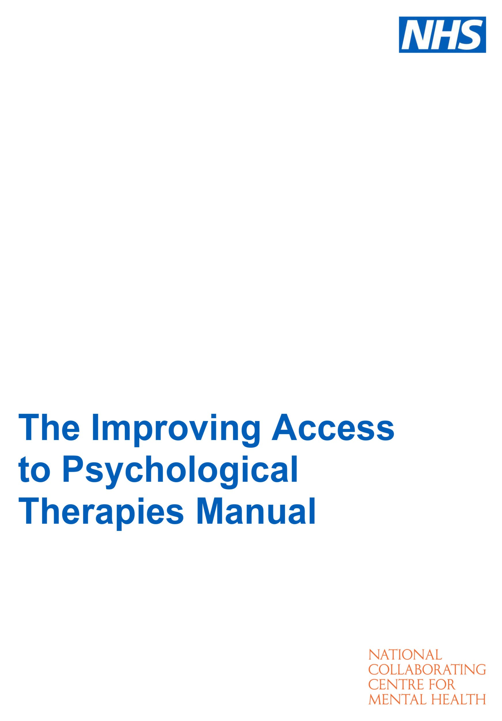 Improving Access to Psychological Therapies – IAPT – OCD-UK