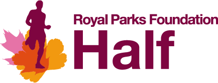 A copy of the Royal Parks Half Marathon logo.