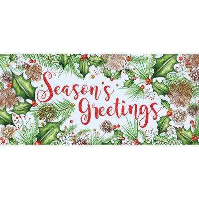 Floral Season's Greeting
