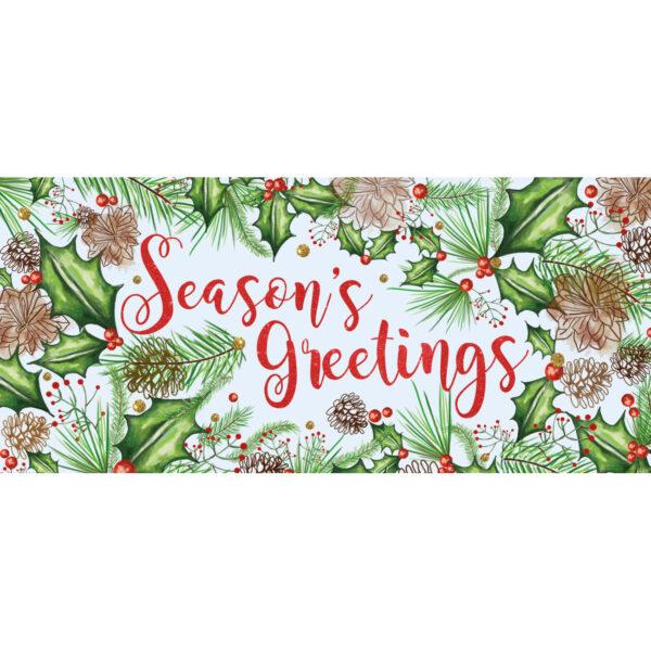Floral Season's Greeting