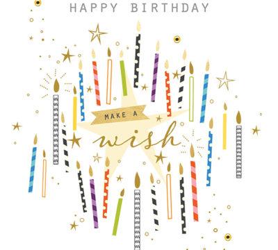 Make a Birthday Wish Candles