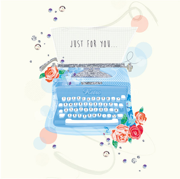 Just for you Typewriter