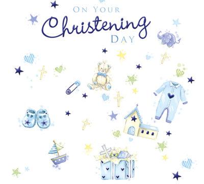 Blue Christening