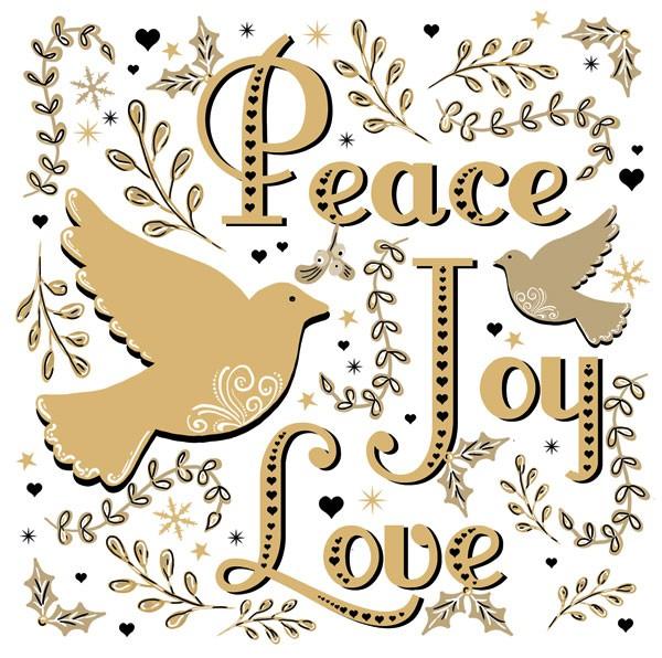Doves of Peace, Joy, Love
