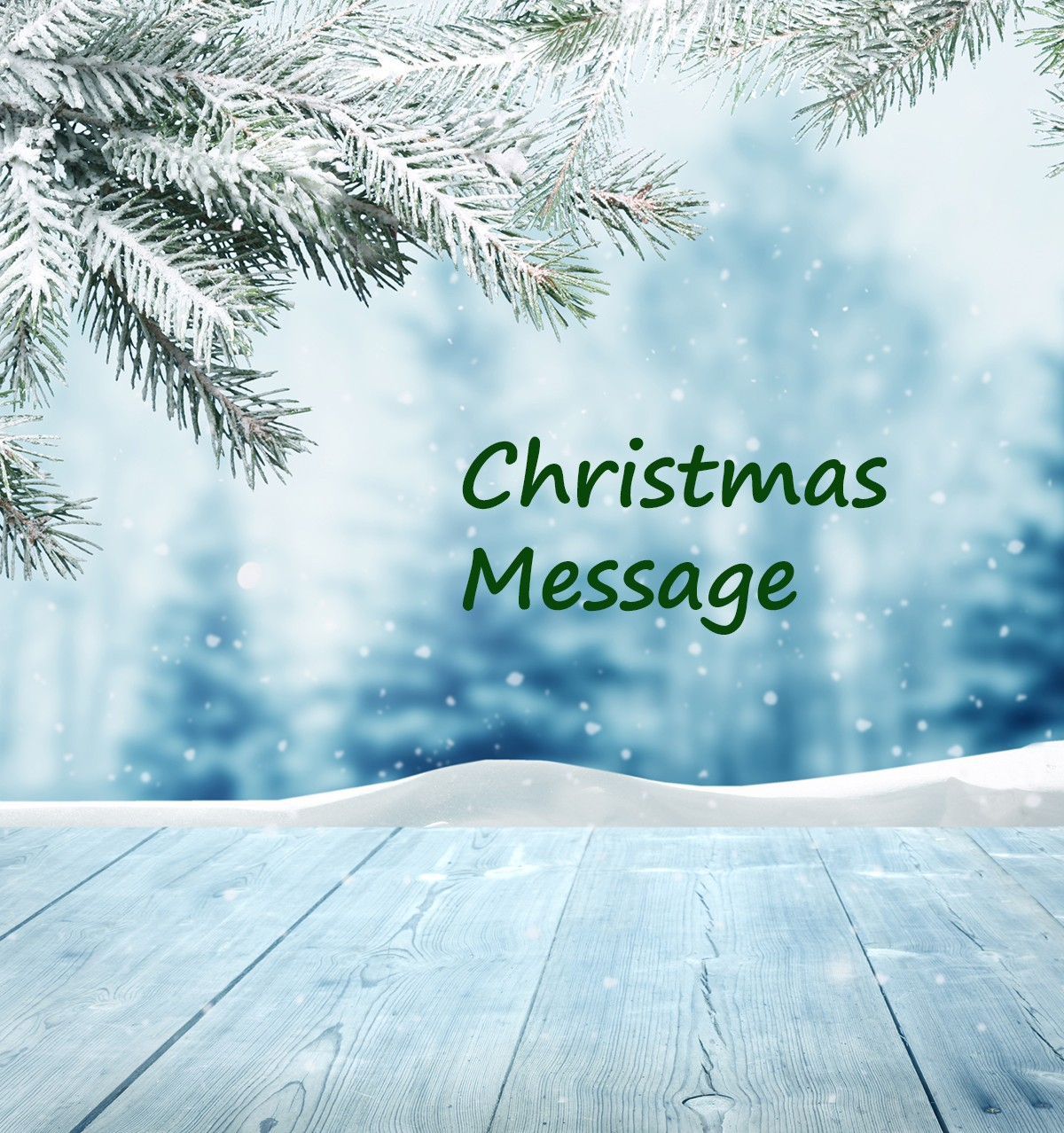 "Featured image for ""Christmas Message from Ashley"""